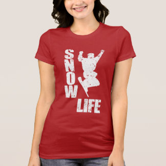 SNOW LIFE #3 (wht) T-Shirt