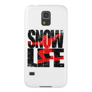 SNOW LIFE red boarder (blk) Galaxy S5 Cover