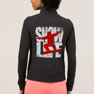 SNOW LIFE red boarder (blk) Jacket