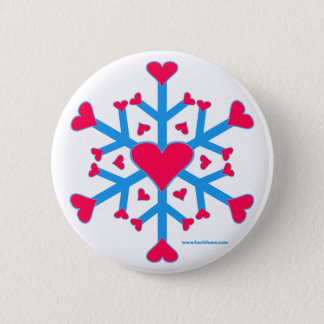Snow Love Button