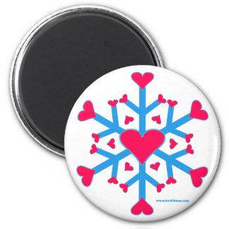 Snow Love Magnet