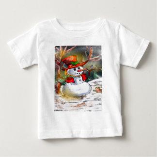 SNOW MAN BABY T-Shirt