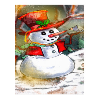 SNOW MAN LETTERHEAD