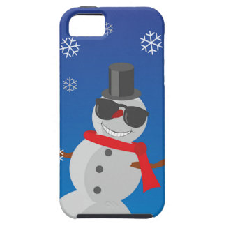 Snow Man Snow Winter Christmas iPhone 5 Cases