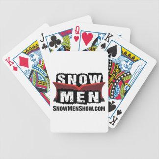 Snow Men Poker Deck