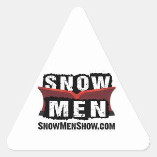 Snow Men Triangle Sticker