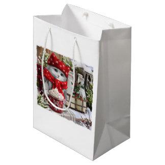 Snow milk medium gift bag
