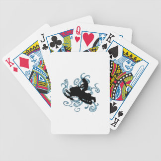 Snow mobile Mania Bicycle Playing Cards