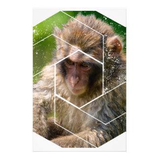 Snow Monkey Customized Stationery