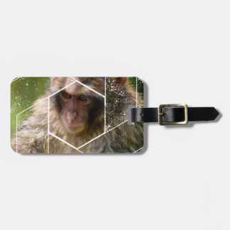 Snow Monkey Luggage Tag