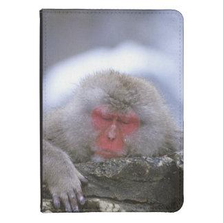 Snow Monkey Mother & Child, Jigokudani, Nagano, Kindle Case