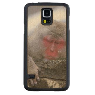 Snow Monkey Mother & Child, Jigokudani, Nagano, Maple Galaxy S5 Slim Case