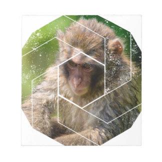 Snow Monkey Notepad