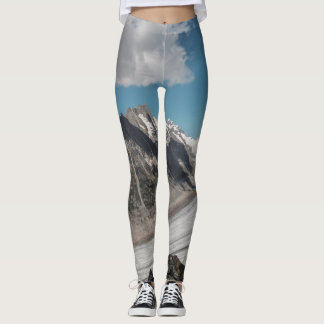 Snow mountain leggings