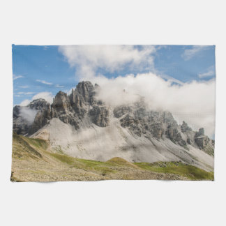 Snow Mountains Kitchen Towel