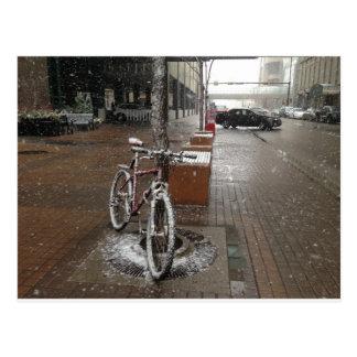 Snow on Me Postcard