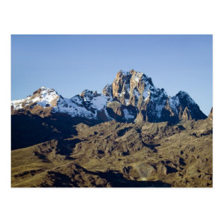Snow on Mount Kenya Postcard