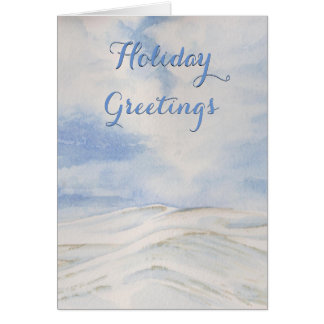 Snow on the Hills of the Palouse Card