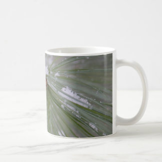 Snow on the Pine Needles Classic White Coffee Mug