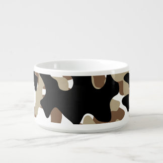 Snow open terrain  Camouflage Bowl