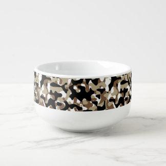 Snow open terrain  Camouflage Soup Mug