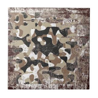 Snow open terrain  Camouflage Tile