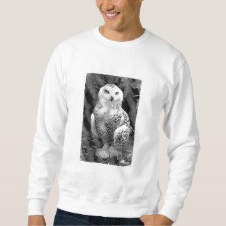 Snow Owl Baby Sweatshirt