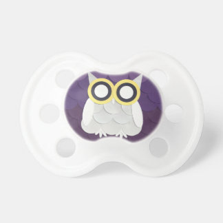 Snow Owl Pacifier