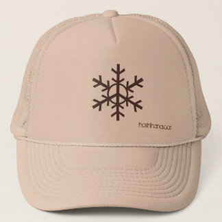 Snow Peacebrown, hoshihana.com Trucker Hat