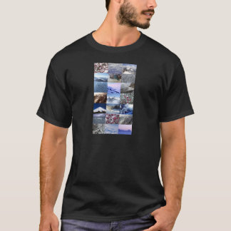 Snow Photo Collage T-Shirt