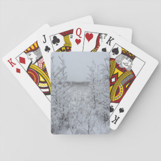 Snow Playing Cards