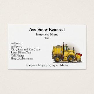 Custom plow business cards zazzle snow plow truck business cards colourmoves Images