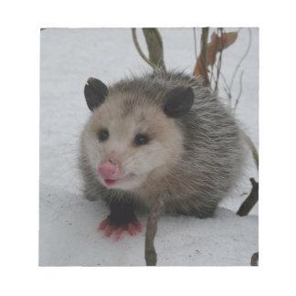 Snow Possum Notepads