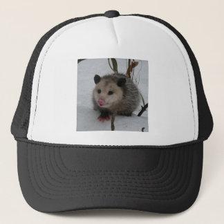Snow Possum Trucker Hat