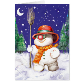 *Snow Puppet* Card