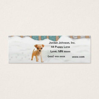 Snow puppy Business Card