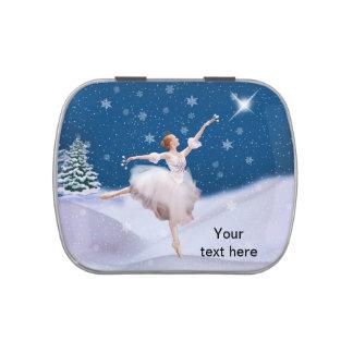 Snow Queen Ballerina Customizable Text