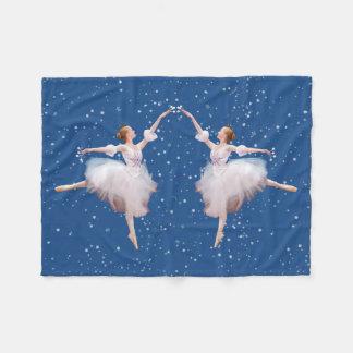 Snow Queen Ballerina Fleece Blanket