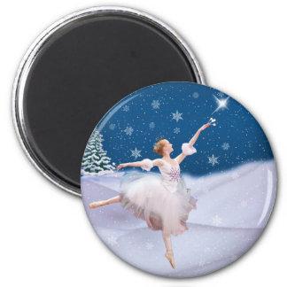 Snow Queen Ballerina  Magnet