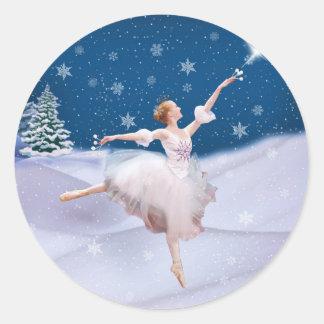Snow Queen Ballerina  Stickers
