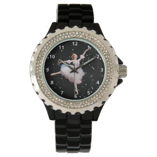 Snow Queen Ballerina With Numerals Watch