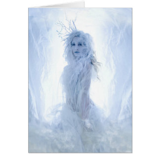 Snow Queen Card