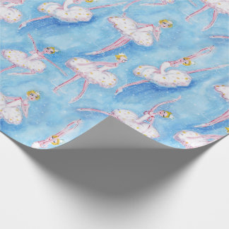 Snow Queen Christmas wrapping paper