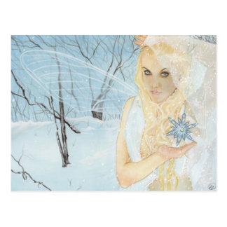 Snow Queen Fairy Postcard