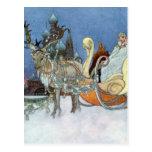 Snow Queen Ice Princess Post Card