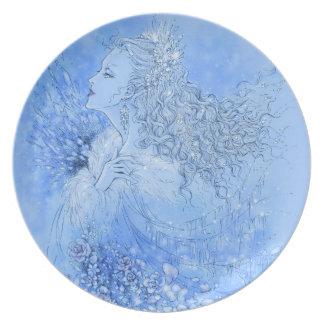 Snow Queen Plate