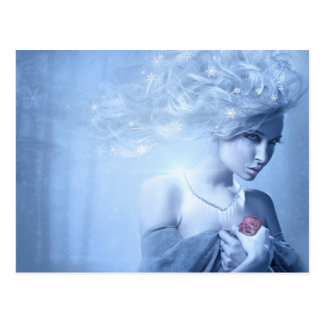Snow Queen Post Card