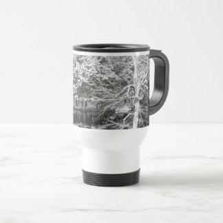 Snow Reflections on a Travel Mug