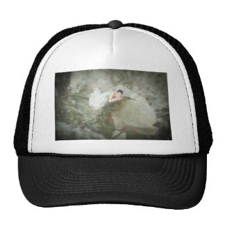 Snow Rose Fairy Trucker Hat