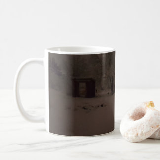 Snow Scene Mug. Coffee Mug